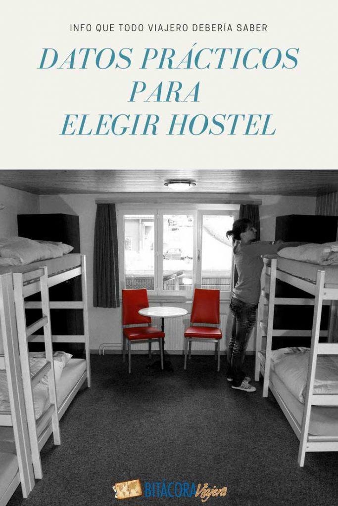 Datos útiles para elegir hostel y no volverte loco en el intento #bitacoraviajera #guiasdeviaje #tipsviajeros #hostales #hostels #informacionutil
