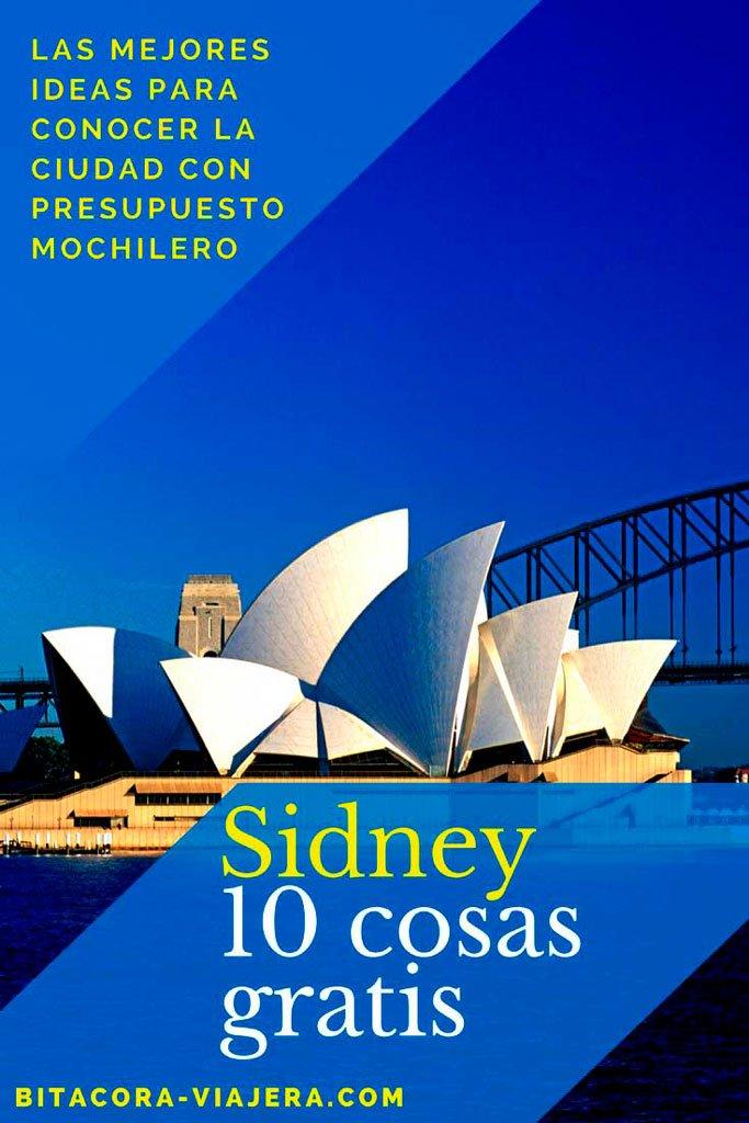 10+7 cosas que hacer gratis en Sidney: una guía con todas las opciones para disfrutar la ciudad con poco presupuesto #bitacoraviajera #viajarbarato #viajaraaustralia #australia #sidney #quehacergratis #tipsviajeros #guiasdeviaje