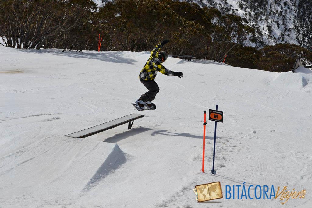 snowboard en mt hotham