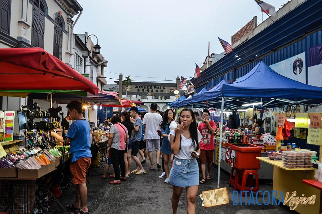 mercado nocturno de melaka (2)