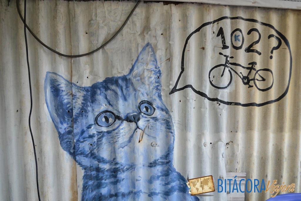 Arte Callejero Penang 101 Lost Kittens Project (5)