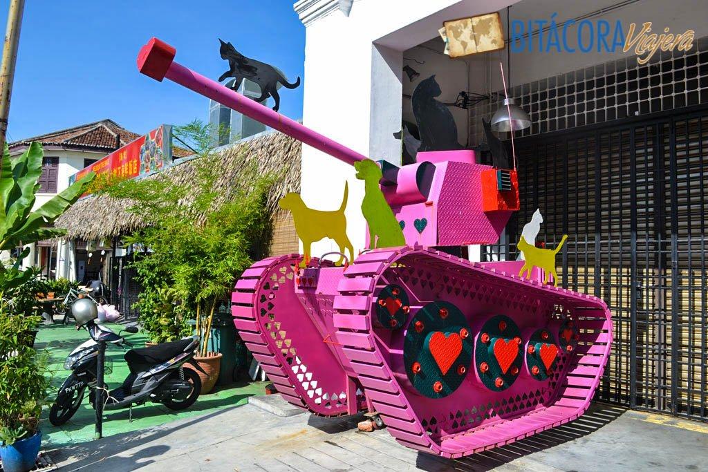Arte Callejero Penang 101 Lost Kittens Project (8)