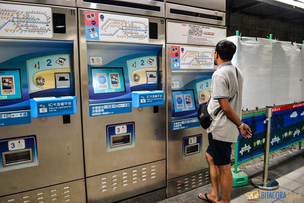 viajar a taiwan - metro