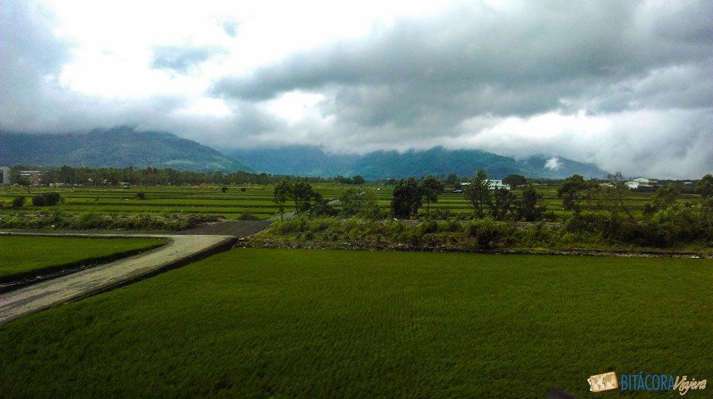 viajar a taiwán - paisajes