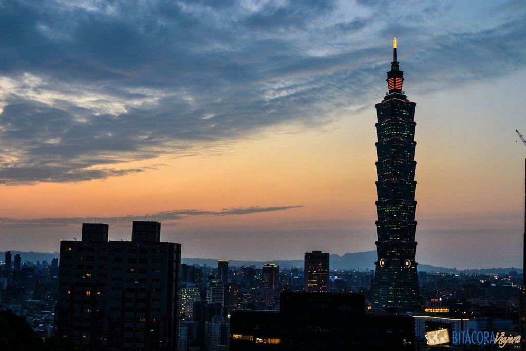 viajar a taiwán - taipei 101