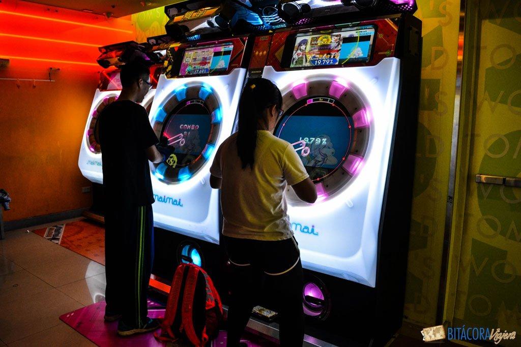 viajar a taiwán - videojuegos