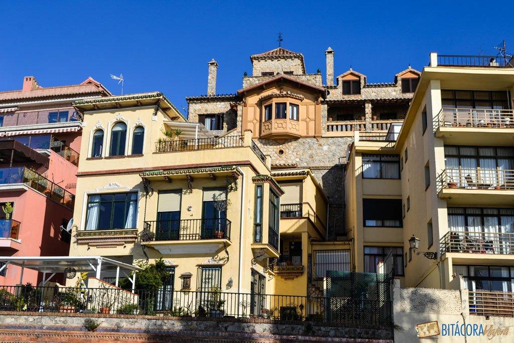 malaga casas frente al mar