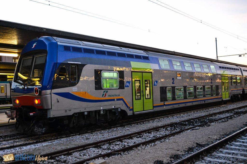 viajar por italia en tren