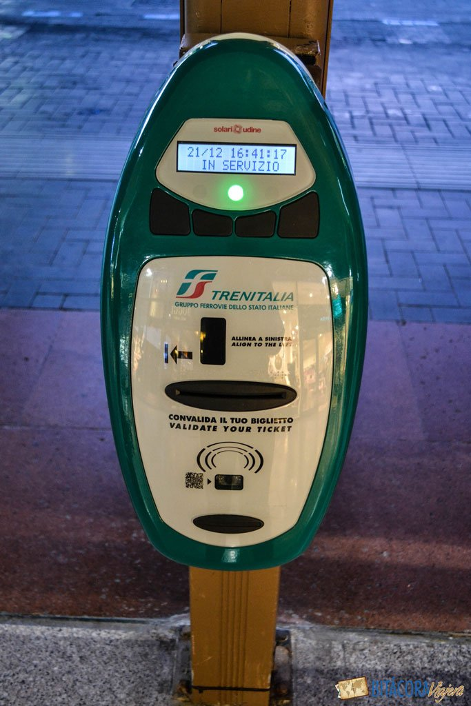 validar boleto de tren en italia