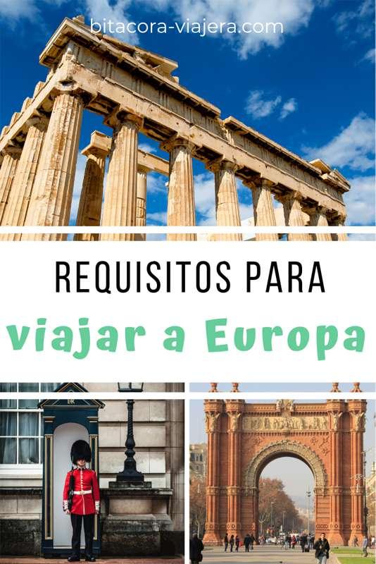Requisitos para viajar a Europa. Conocé todo lo que necesitás para pasar migraciones sin dolores de cabeza. #viajeros #bitacoraviajera #viajes #infoutil #viajesaeuropa #viajaraeuropa
