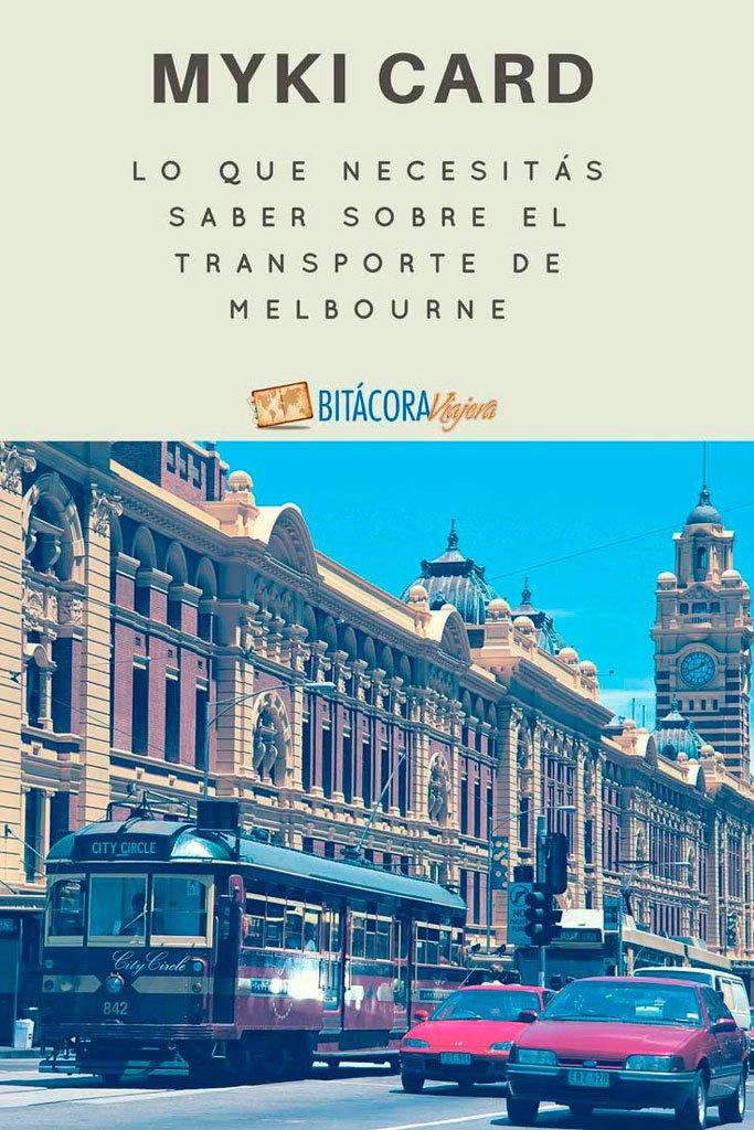 Myki Card: toda la información que necesitás saber para usar el transporte público en Melbourne. #bitacoraviajera #viajaraaustralia #melbourne #viajaramelbourne #tipsviajeros #guiasdeviaje