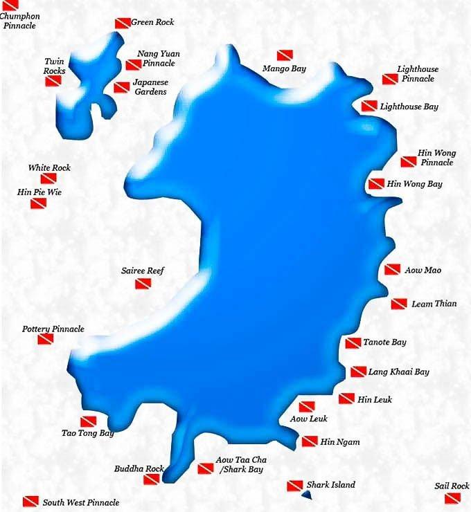 koh tao paraíso de buceo en tailandia
