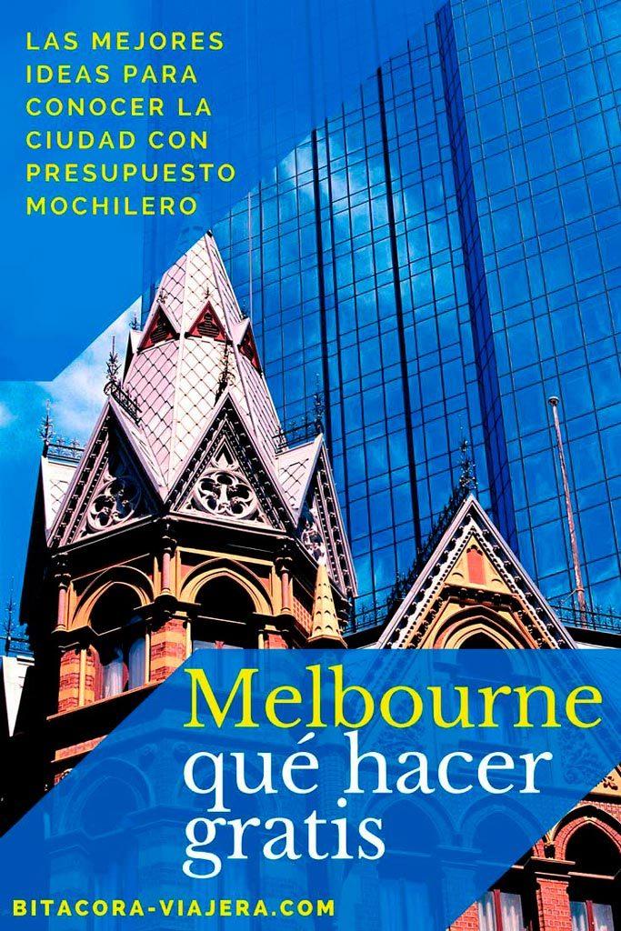 Que hacer gratis en Melbourne: las mejores ideas para que puedas disfrutar la ciudad con presupuesto mochilero #bitacoraviajera #viajarbarato #viajaraaustralia #australia #melbourne #guiasdeviaje #tipsviajeros