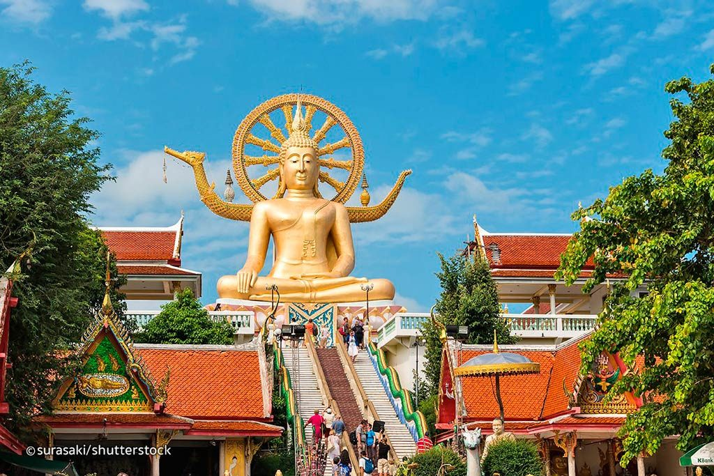 big buddha viajar a koh samui