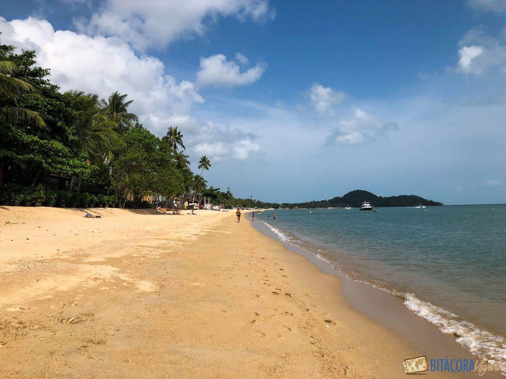 bophut beach - viajar a koh samui