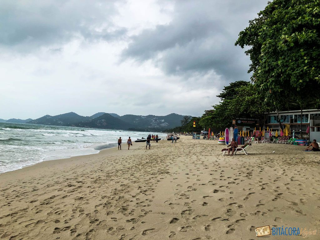 chaweng beach - viajar a koh samui