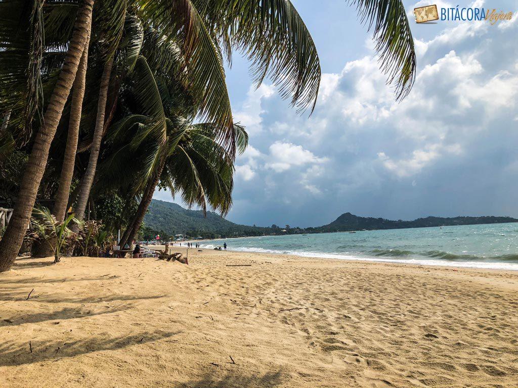 lamai beach - viajar a koh samui