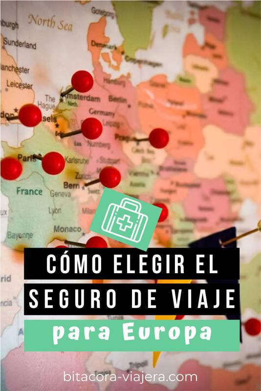 Cómo elegir el seguro de viaje para Europa. Por qué es obligatorio y qué tenés que tener en cuenta al comprarlo. #segurodeviaje #asistenciaalviajero #viajesaeuropa