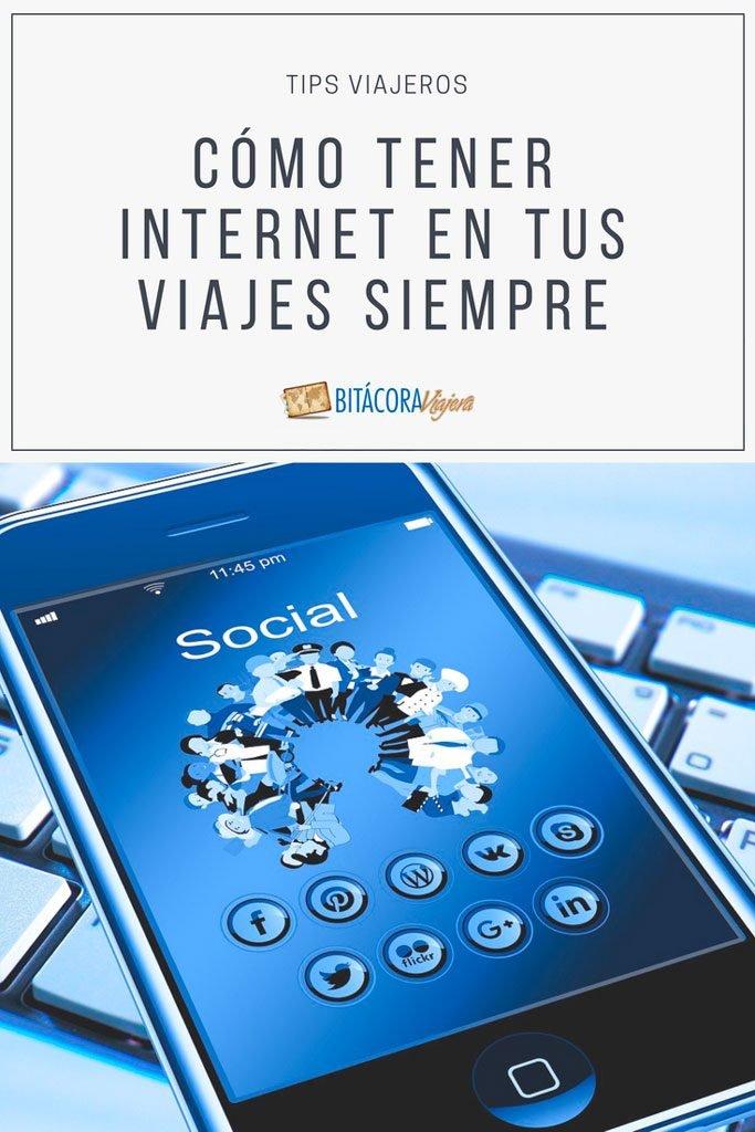 Cómo tener internet en tus viajes siempre. Un post con alternativas e ideas para que puedas estar siempre conectado. #bitacoraviajera #tipsviajeros #informacionutil #guiasdeviaje #internetenlosviajes