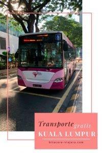 ¿Sabías que hay transporte gratuito en Kuala Lumpur? En este post te dejo toda la información que querés saber para recorrer la ciudad sin gastar un centavo. #bitacoraviajera #guiasdeviaje #tipsviajeros #viajarbarato #viajaramalasia #kualalumpur #malasia