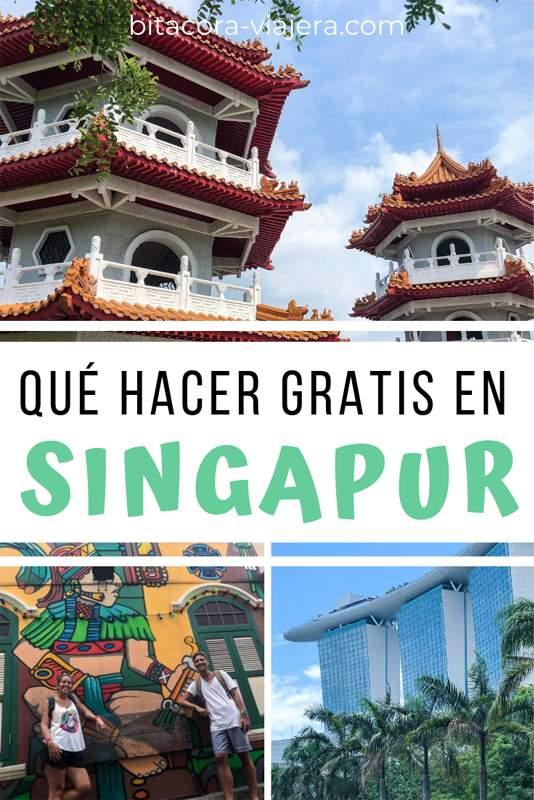 18 cosas que hacer gratis en Singapur. Ideal para los que quieren disfrutar la ciudad con poco presupuesto. #bitacoraviajera #singapur #sudesteasiatico #viajaraasia #viajaralsudesteasiatico #viajarasingapur #guiasdeviaje #viajarbarato #quehacergratis #viajeros #mochileros
