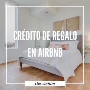 Obtené crédito de regalo en Airbnb. Si ya tenés una cuenta necesitarás crearte otra para que el descuento se aplique.