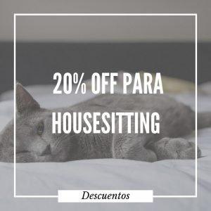 20% de descuento para tu membresía en Trusted Housesitters, que te permitirá viajar alrededor del mundo cuidando casas y mascotas.