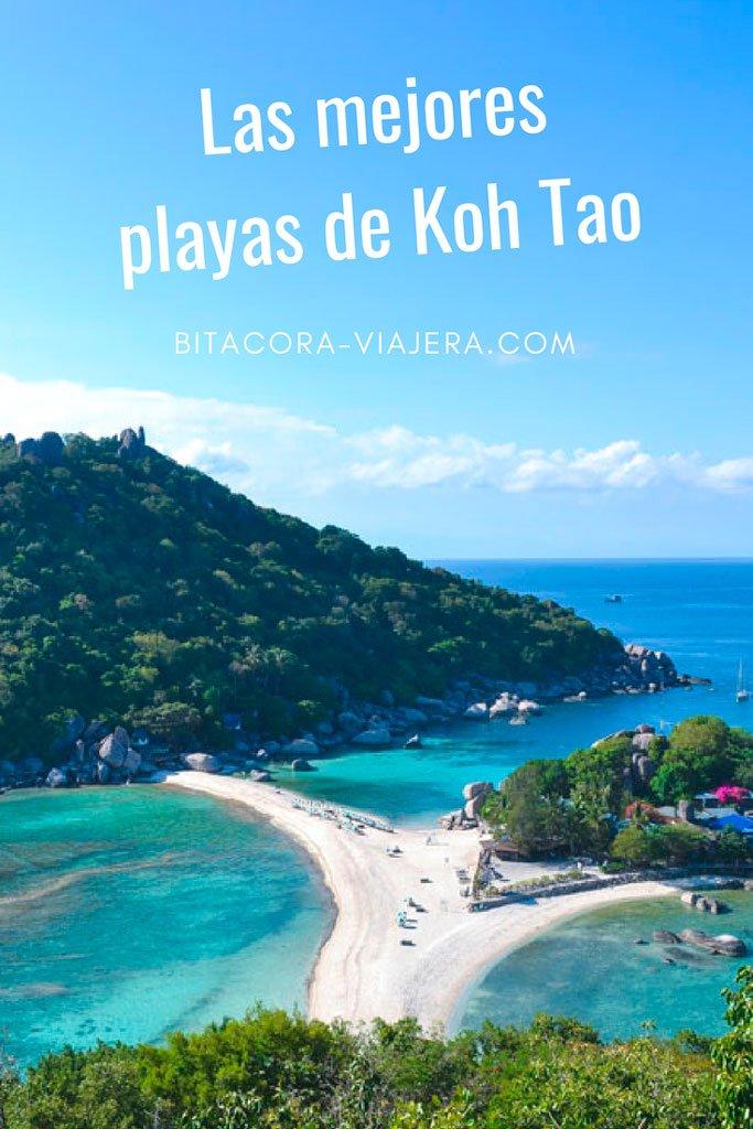Las mejores playas de Koh Tao. Conocé cuáles son las mejores playas de la isla y disfrutá tu viaje a Tailandia al máximo. #bitacoraviajera #viajaratailandia #tailandia #kohtao #mejoresplayas #playasrecomendadas #guiasdeviaje