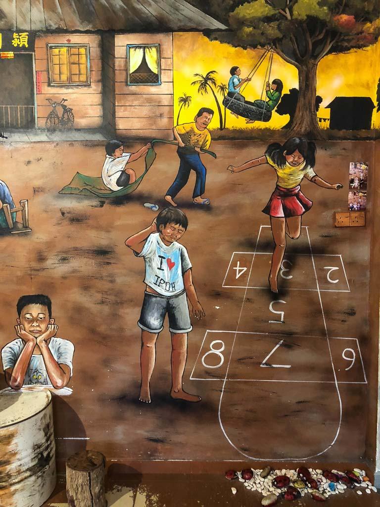 arte callejero de ipoh