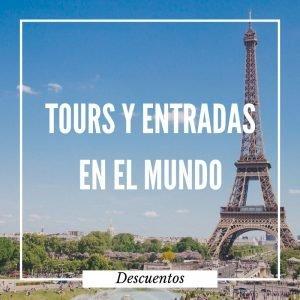 Descuentos y ofertas increíbles en entradas y tours alrededor del mundo.