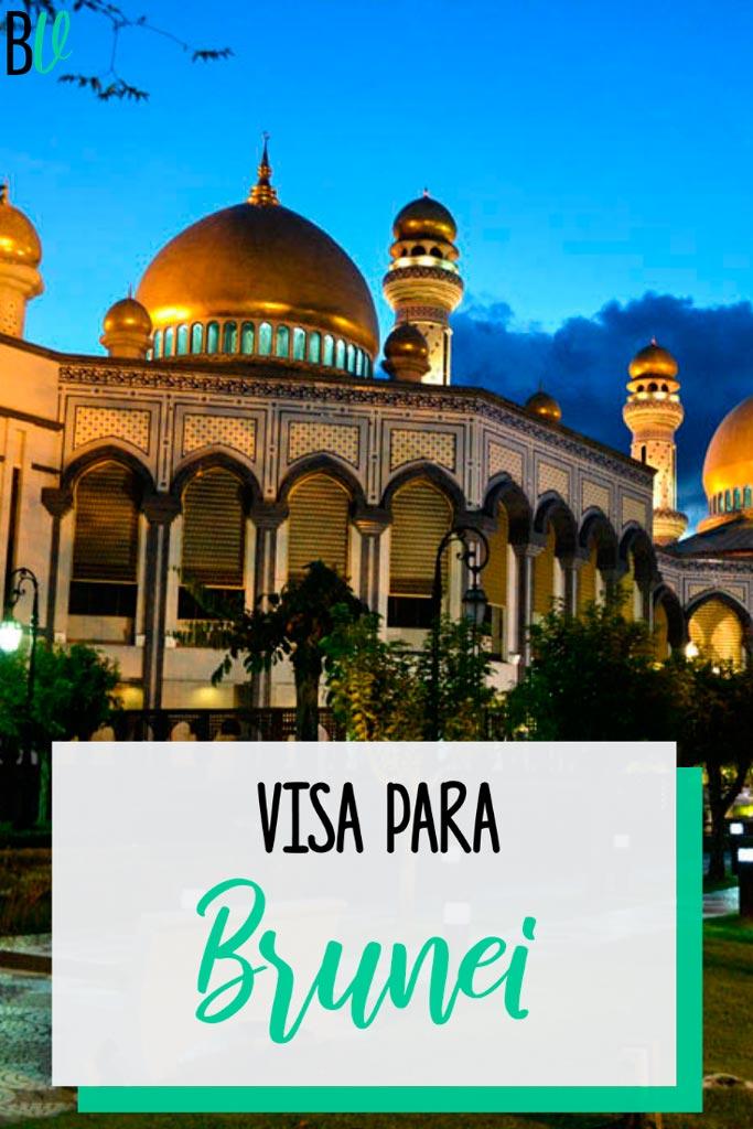 Toda la información que necesitás sobre la visa para Brunei. Requisitos, costos, tiempos, cómo tramitarla, etcétera. #bitacoraviajera #viajarabrunei #brunei #asia #visas