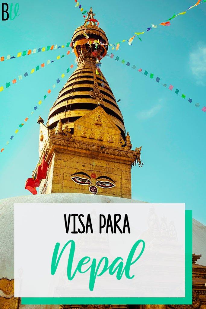 Toda la información que necesitás sobre la visa para Nepal. Requisitos, costos, tiempos, cómo tramitarla, etcétera. #bitacoraviajera #viajaranepal #nepal #asia #visas
