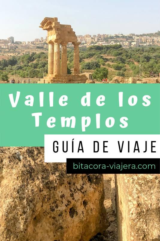 Guía para visitar el Valle de los Templos en Agrigento. Qué ver, qué hacer, cómo llegar, cuánto cuesta y más. Todo lo que necesitás saber para organizar tu visita al Valle de los Templos. #bitacoraviajera #italia #viajesaeuropa #sicilia #valledelostemplos #agrigento