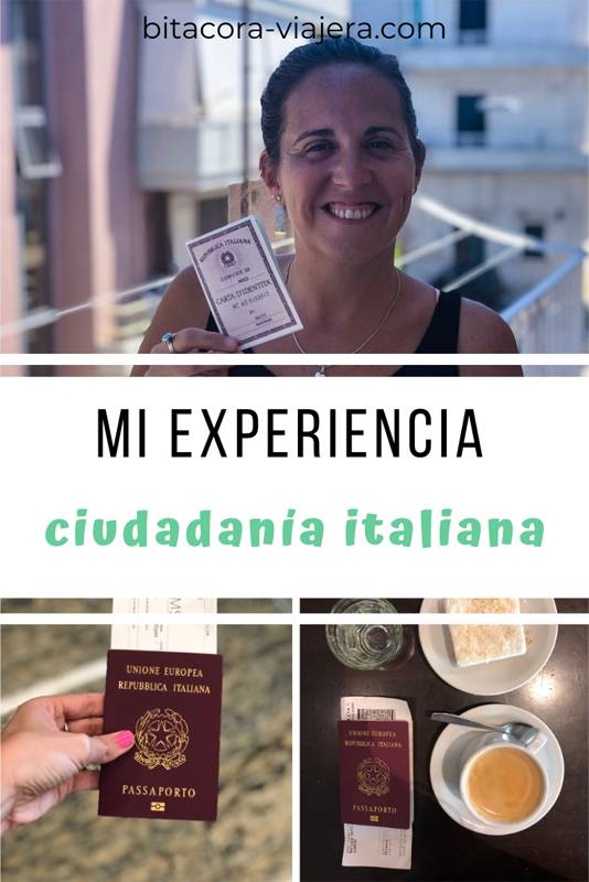 Mi experiencia tramitando la ciudadanía italiana en Italia #bitacoraviajera #ciudadaniaitaliana #viajeros #emigrar