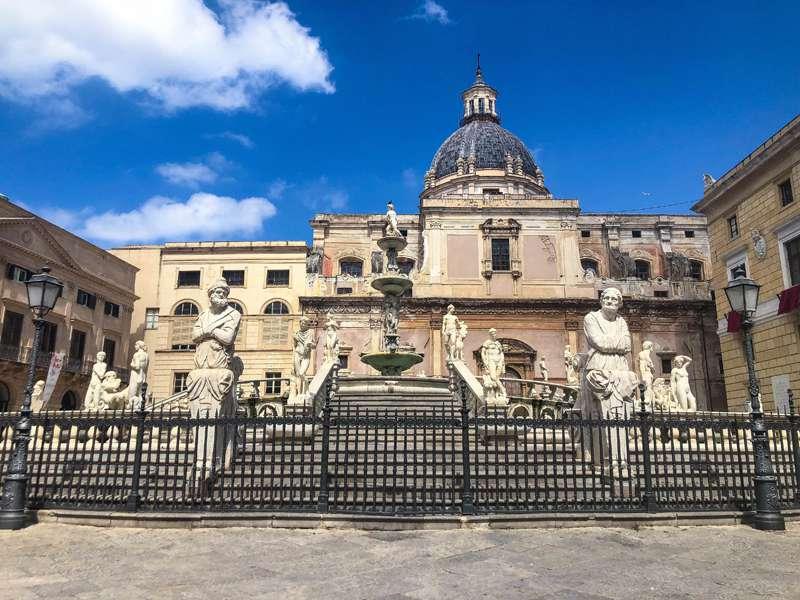 15 cosas que hacer en Palermo (Sicilia) - Fuente Pretoria