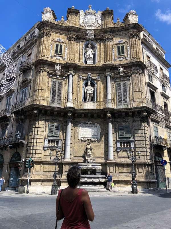 15 cosas que hacer en Palermo (Sicilia) - Quattro Canti