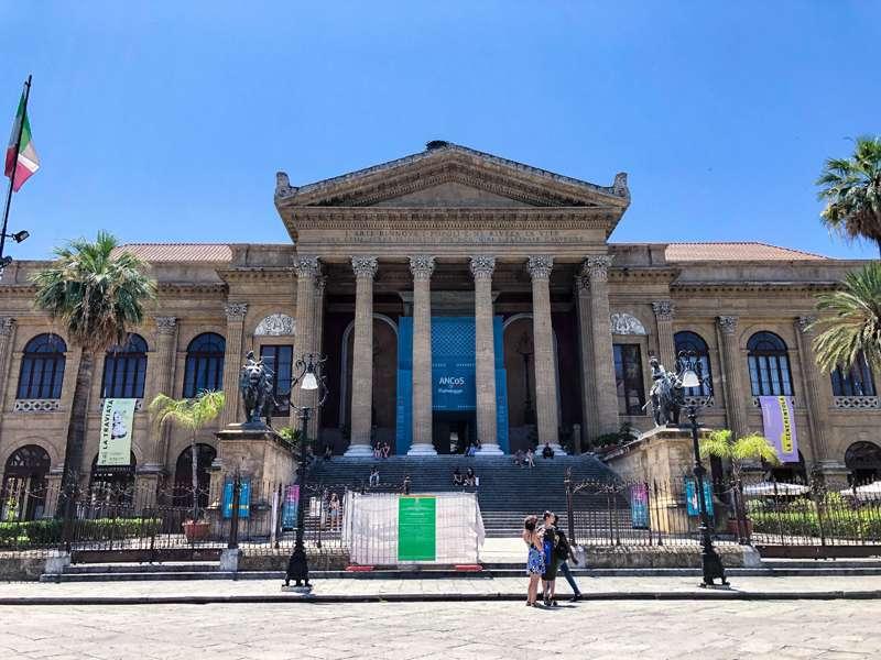15 cosas que hacer en Palermo (Sicilia) - Teatro Massimo