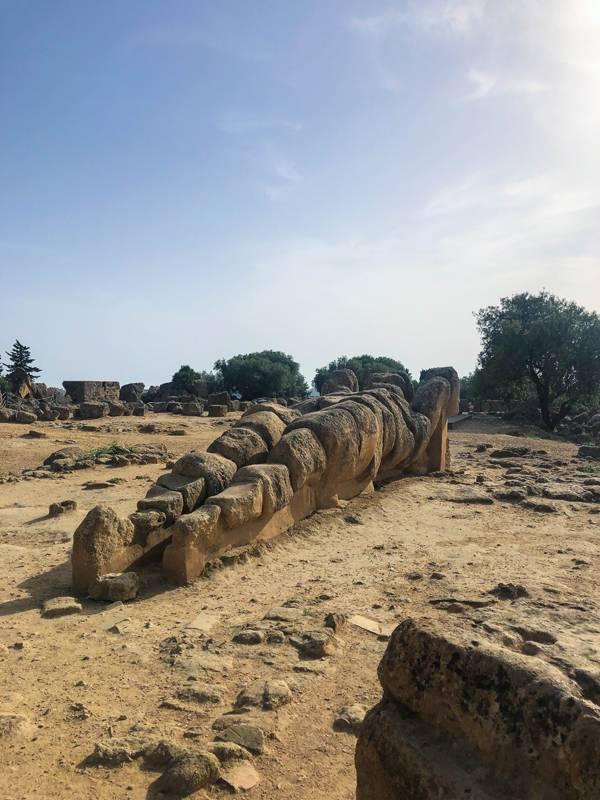 Templo de Zeus - Agrigento