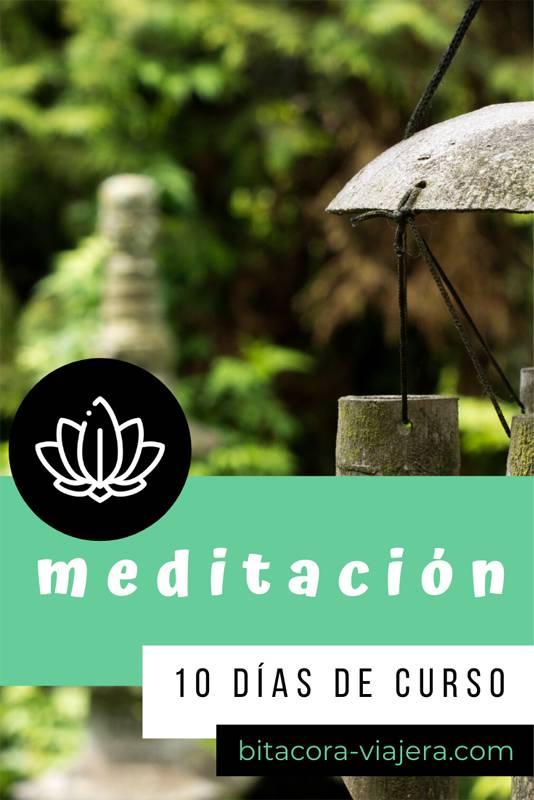 Mi experiencia de 10 días en un curso de meditación Vipassana. No me callo nada y te cuento todo lo que vivi con lujo de detalles. #bitacoraviajera #mindfulness #meditacion #meditacionvipassana #vipassana #cursodemeditacion #meditar #relax #viajes #viajar #lifestyle #viajeros