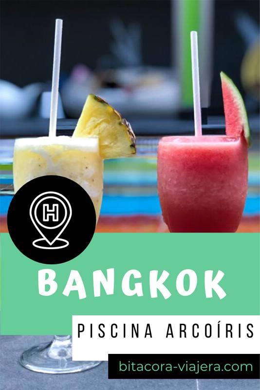 Con esta piscina color arcoíris vengo a desmitificar la idea de que la zona de Khao San Road es un barrio mochilero. En uno de los hoteles más reconocidos mundialmente podés disfrutar de una piscina multicolor que tiene toda la onda, estilo, buen gusto y además es super instagrameable. #bitacoraviajera #viajeros #luxurytravel #viajesconestilo #hotelesdelujo #bangkok #viajaratailandia #tailandia #sudesteasiatico #viajesatailandia