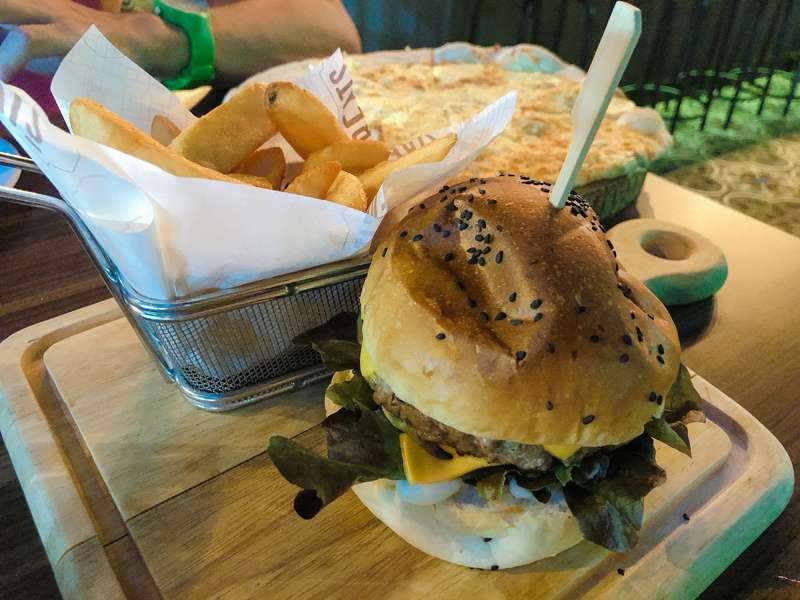 hamburguesa streats