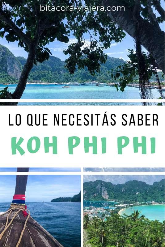 lo que necesitas saber antes de ir a koh phi phi