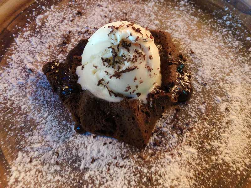 volcan de chocolate streats