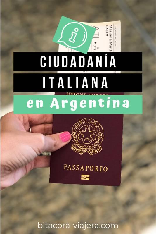 Cómo Tramitar la Ciudadanía Italiana en Argentina. Toda la información que necesitás sobre el proceso. Qué documentación tenés que presentar en Argentina, tiempos, turnos, costos y mucho más. #ciudadaniaitaliana #emigrar #ciudadaniaitalianaenargentina