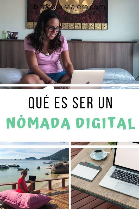 ¿Qué es ser un nómada digital? ¿Cómo es posible viajar por el mundo y trabajar online? Hacé click en la imagen para saber más #nomadadigital #vivirviajando #trabajaronline