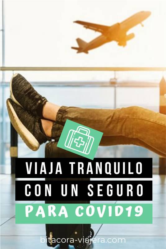 Viaja tranquilo con un seguro de viaje COVID19 #segurodeviaje #asistenciaalviajero #viajaseguro